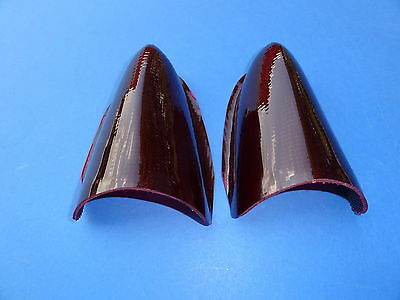 "1955 Chevrolet ""lee"" Custom 1956 Buick Style Taillight Lens-Pair-New-Usa Made"