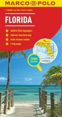 Florida Marco Polo Map by Marco Polo 9783829767415 (Sheet map, folded, 2011)