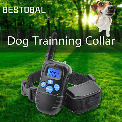 Remote Rechargeable Training Electric Shock Collar For Small Medium Large Dog