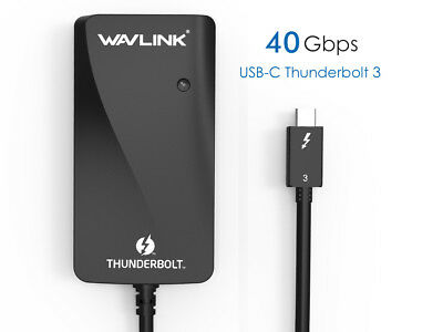Thunderbolt 3 to Dual DisplayPort Adapter,Supports Two 4K60Hz Monitors Or One 5K