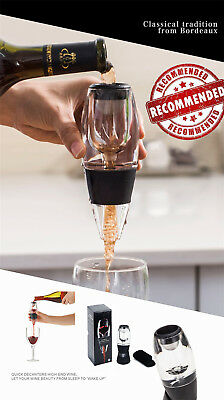 AU Mini Red Wine Aerator Filter Magic Decanter Essential Wine Quick Aerator Set