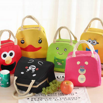 Children Adult Lunch Bags Insulated Cool Lunch Bag Picnic Bags School Lunch Box