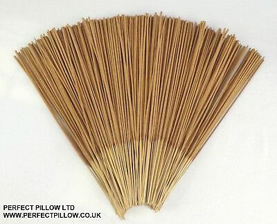 """Unfragranced Incense Sticks, 13"""", Raw , Fresh made for you to Fragrance at home"""