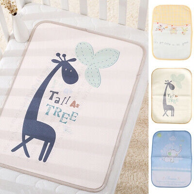 Baby PVC Waterproof Washable Urine Mat Nappy Bed Changing Diaper Pad Cover