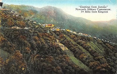 Jamaica~Newcastle Military Cantonment~Houses in Mountains~Near Kingston~c1910 Pc