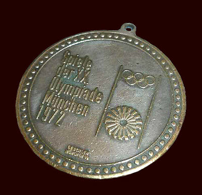 OLYMPIC GAMES MUNICH 1972 - Old COMMEMORATIVE MEDAL