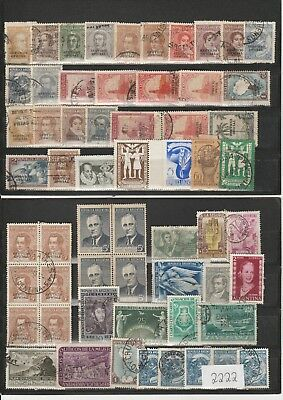 Briefmarkenlot  Argentinien  / siehe Scan  / Lot 2222