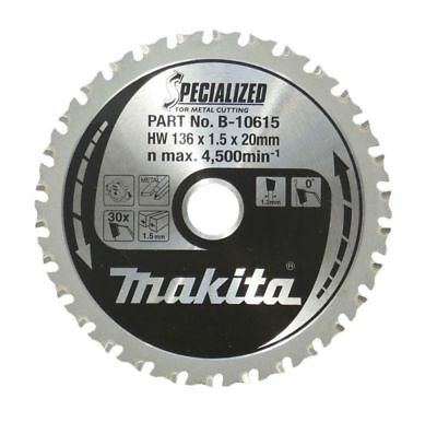 MAKITA B-10615 TCT BLADE 136mm 30T Metal Cutting DCS550