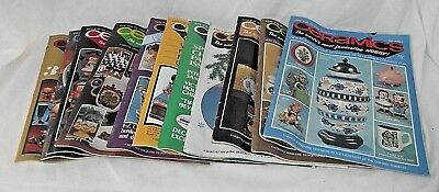 Ceramics Lot 1974 1975 Magazines Hobby Projects Techniques Decor 11 Monthly VTG