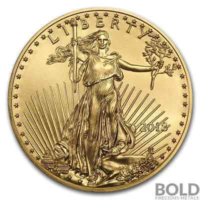 2018 Gold American Eagle - 1/10 oz