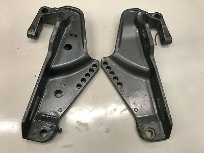 Yamaha Bracket Clamp 63D-43111-00-4D   63D-43112-00-4D fits 40hp - 50hp outboard