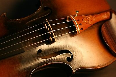 Old Antique 18Th Century French Violin By Jean-Baptiste Lemarquis Circa 1790