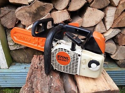 STIHL MS 200T top-handled professional arborist chainsaw