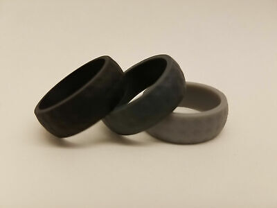 Silicone Wedding Band, Rubber Ring Sports Outdoor Flexible Safe Fitness Comfort