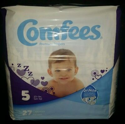 ATTENDS COMFEES BABY Diapers Size 1 - $15 59 | PicClick