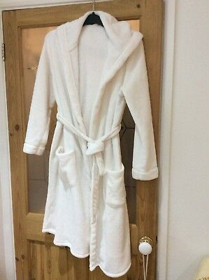 Mothercare 'Blooming Marvellous' Maternity Hooded Dressing Gown Size Small(8-12)