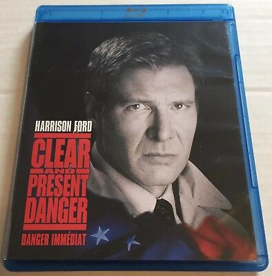Clear and Present Danger (Blu-ray, 2008) Canadian