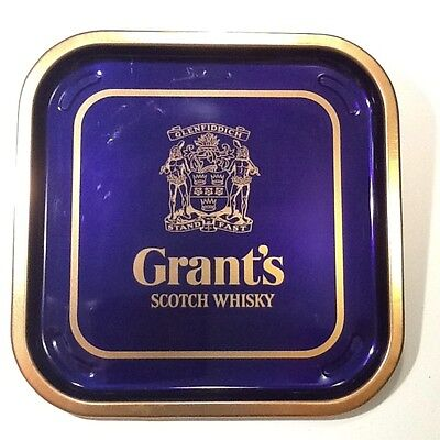 Vintage GRANT'S Scotch Whiskey Serving Tray