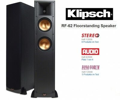 klipsch r 26f schwarz neu standlautsprecher new reference. Black Bedroom Furniture Sets. Home Design Ideas