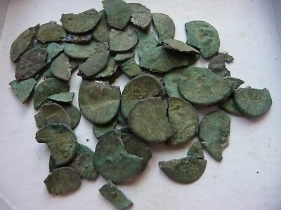 CELTS Durotriges hoard of billon 1/4 stater coins Ancient Brittania