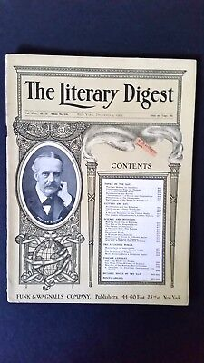 1905 The Literary Digest- FOOTBALL REFORM BY ABOLITION!!