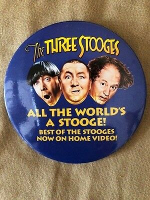 The Three Stooges Promo Movie Pin