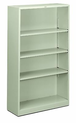 HON Metal Bookcase  - Bookcase with  Two Shelves,  34-1/2w x 12-5/8d x 59... New