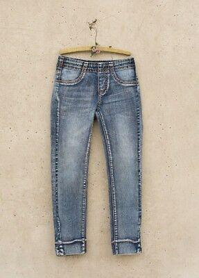 Joyfolie *NEW* Amber Distressed Denim Jeggins Pants Jeans Leggins  in Indigo