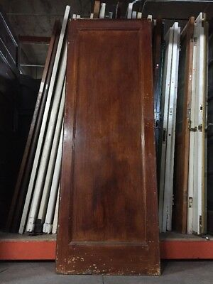 "Old Craftsman Style Kitchen Swing Door 79 1/2"" X 27 1/2"