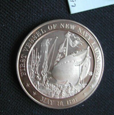 US Navy launched 1797. Mordern made, large brass/bronze