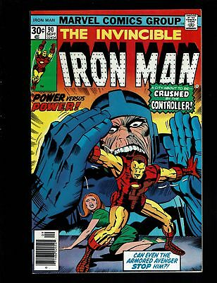 Iron-Man 90 Fvf 7.0 Controller Blood Brothers Mar-Vell Thanos Kirby Cover Tuska