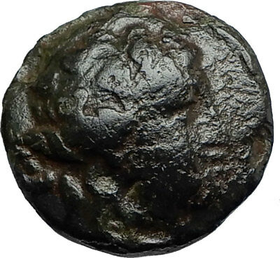 MARONEIA in Thrace 148BC Authentic Ancient Greek Coin - DIONYSUS WINE GOD i66708