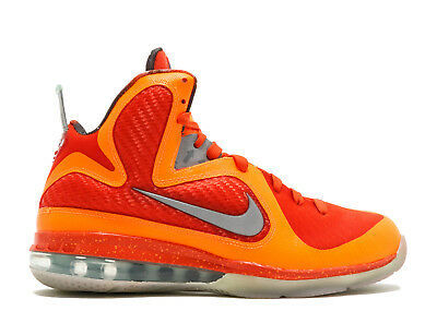 AUTHENTIC NIKE LEBRON 9 AS All STAR BIG BANG GALAXY ORANGE SIZE -11 ... f79906889