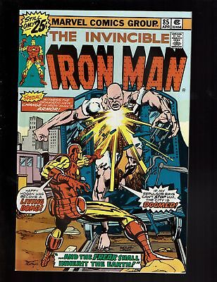 Iron-Man 85 Vf+ 8.5 Happy Hogan As The Freak Pepper Potts Stan Lee Cameo