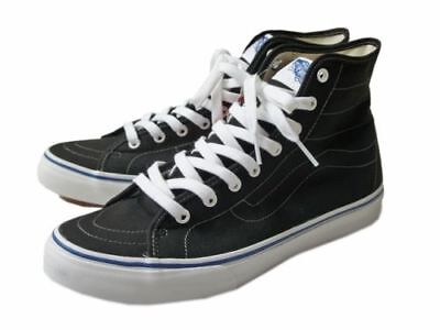 9f6318fde3b3e3 Vans Sk8-Hi Decon Canvas Black True White Men s Skate Shoes Size 5.5 Womens  7