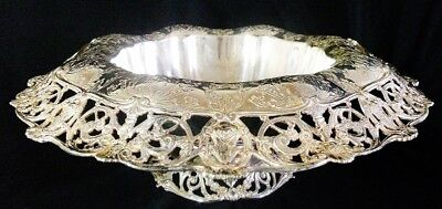 Superb Gorham Sterling Silver Centerpiece Footed Bowl circa 1929.