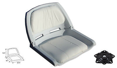 Fold Down Boat Seat Boat Folding Chair Molded Fishing Seat With Swivel