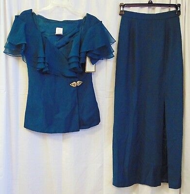 The Bridal Collection 2-Pc Mother Of Bride/groom Dress - Size 8 ~ Nwt!