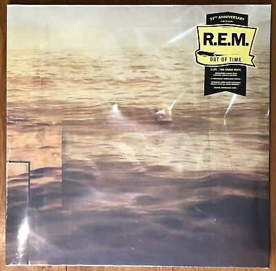 REM Out Of Time / Demos remastered 25th anny 180gm vinyl 3 LP g/f +download NEW/