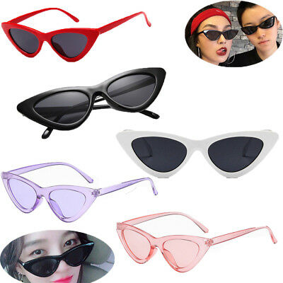 Unisex Womens Mens Retro Vintage Cat Eye Round Glasses Fashion Sunglasses  HE