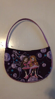 BRATZ Small Purse Jade and Yasmin 6 in diameter
