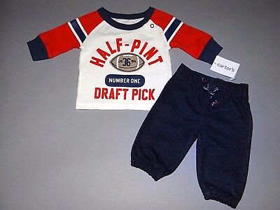 Baby boy clothes, Newborn, Carter's bright adorable top,jeans