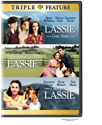 Lassie Come Home Son of Lassie Courage of Lassie Region 4 New DVD