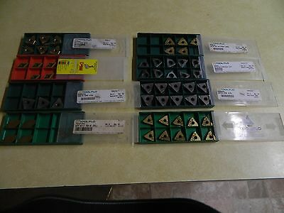 New Tool Flo   Carbide Inserts  Lot Of 8 Boxes