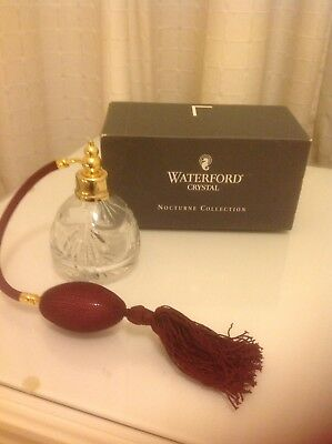 Waterford Crystal Nocturne Perfume Decanter