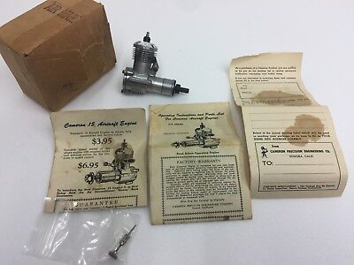 Vintage Cameron 15 model Aircraft Glow engine new