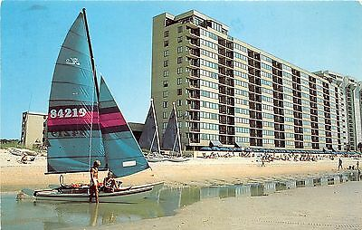 Myrtle Beach South Carolina~Sands Beach Club Resort Hotel~Man/Lady @ Sailboat