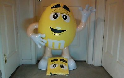 Yellow M&M Inflatable