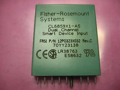 Fisher Rosemount Dual Channel Smart Device Input CL6859X1-A5 / 12P0323X032