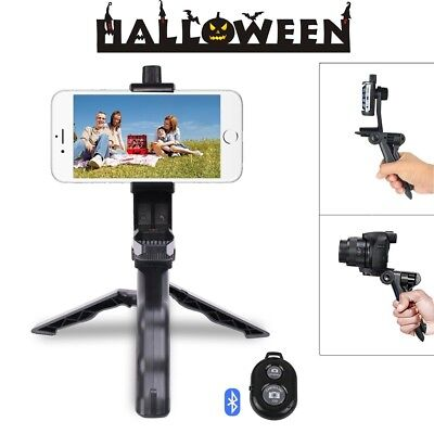 2 in 1 Mini Phone Tripod Selfie Stick Portable and Adjustable Camera Stand, NEW